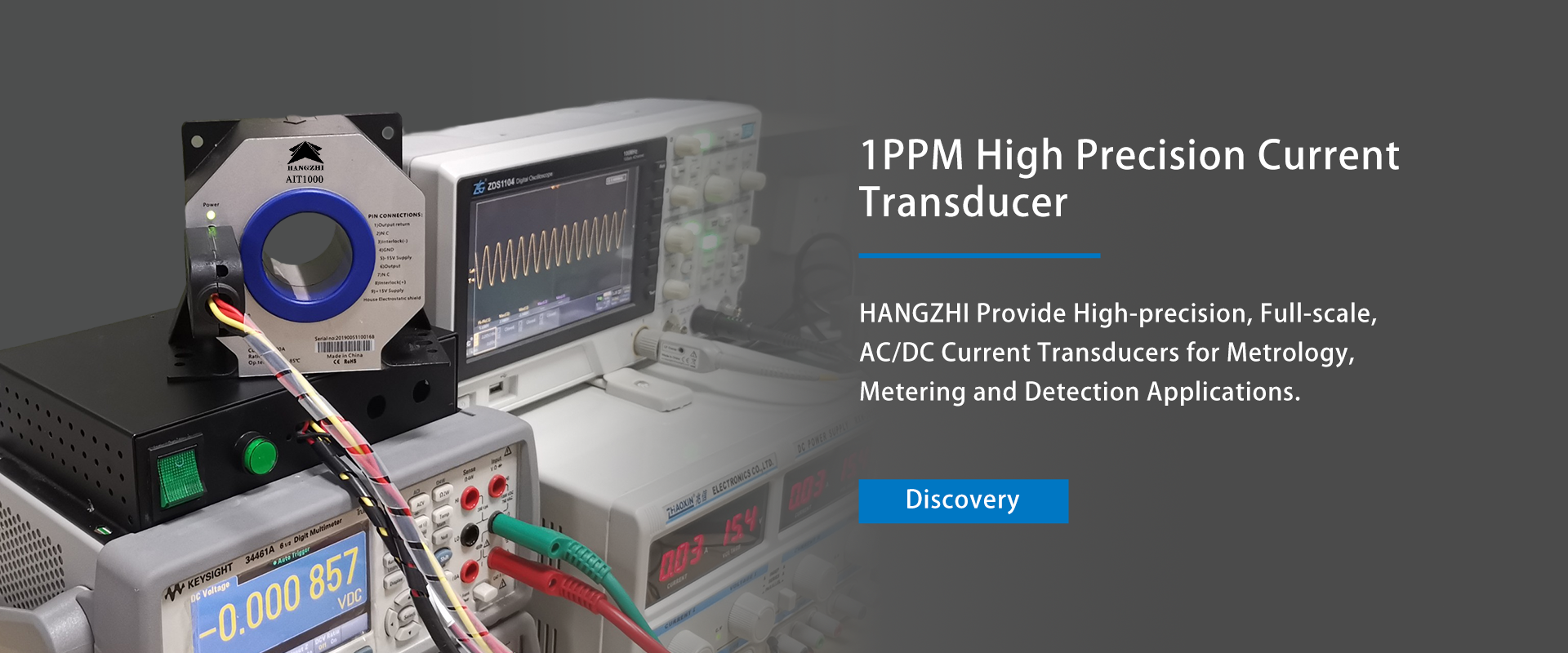 High precision current transducer